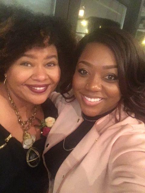 Afrobella & Lyric Robinson Strike a Pose